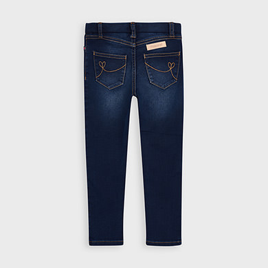 MAYORAL GIRLS Super Skinny Jeans Dark Blue 577-010