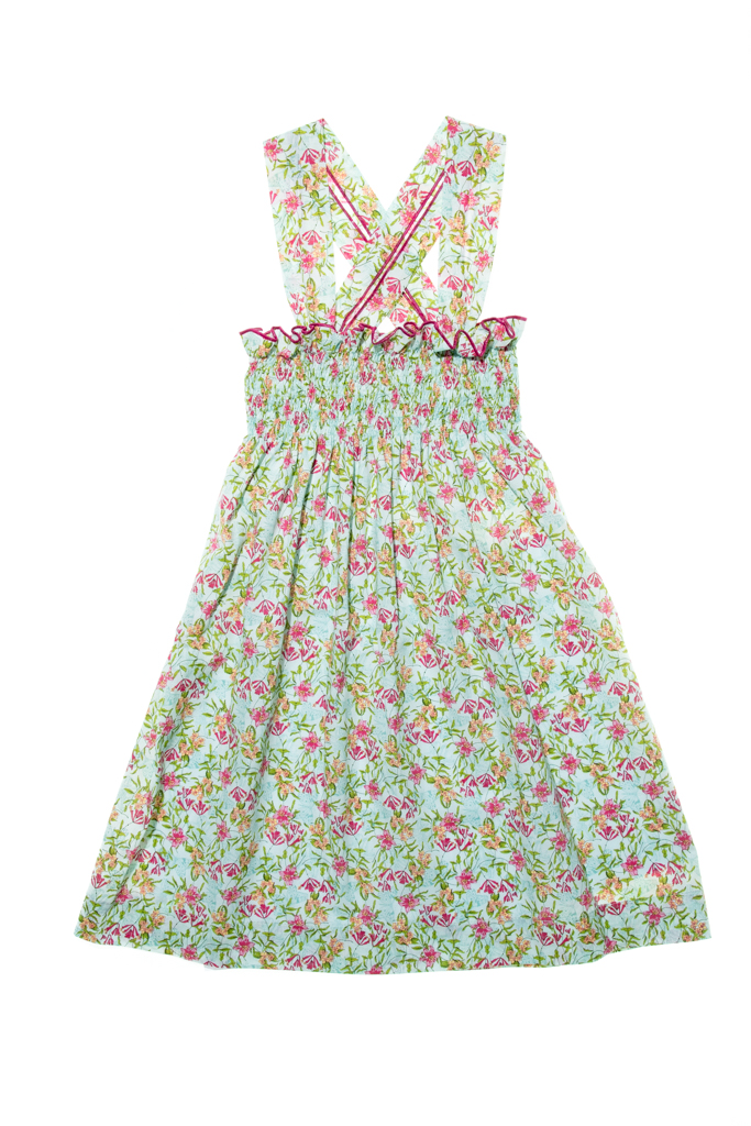 LAPEKI Girls Dress Caelis Verde. Before £18