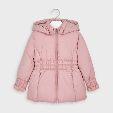 MAYORAL Girls Coat Pale Pink 415-096 NOW £19.95