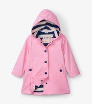 HATLEY GIRLS Pink & Navy Splash Jacket