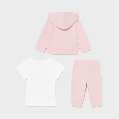MAYORAL BABY GIRL Set 3 Piece Tracksuit 1843-075