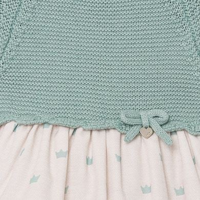 MAYORAL Baby Girl Green tea Crown  Dress 2852-75