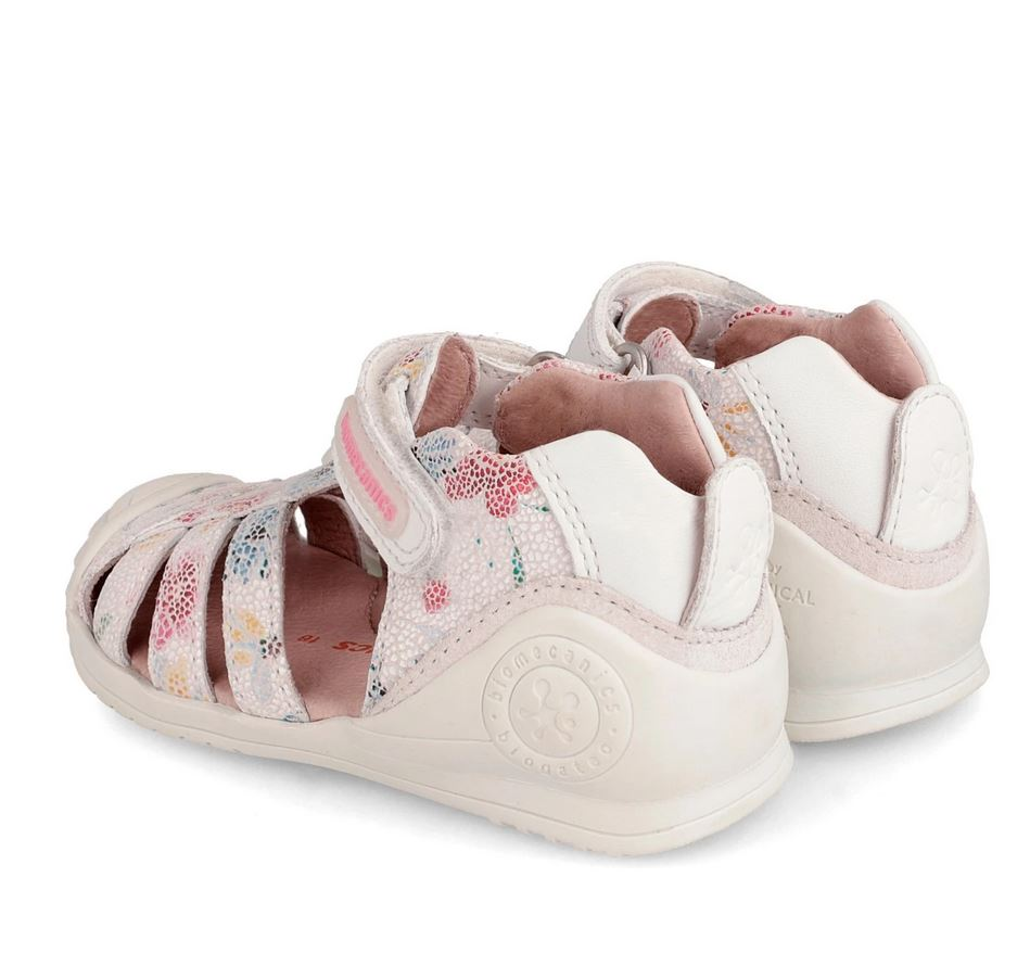 BIOMECANICS Girls Closed Sandals Flowers 192122 NOW £27