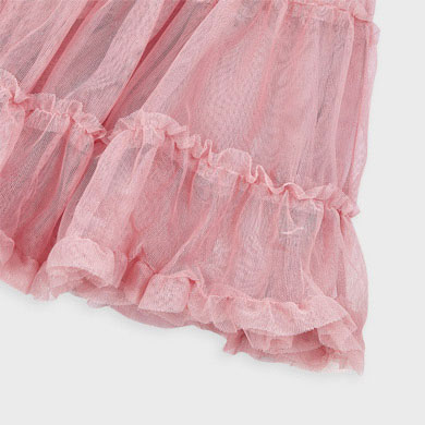 MAYORAL Girls Skirt Tulle Pink 4953-097 NOW £12.95