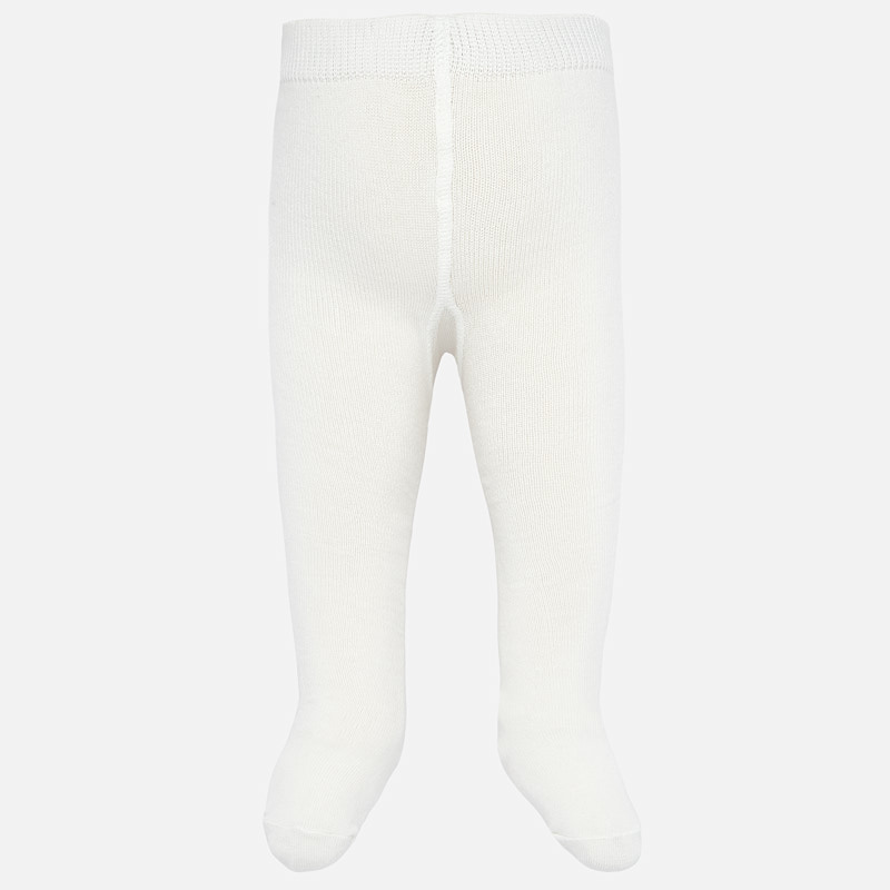 MAYORAL Boys/Girls Tights White 10628-035