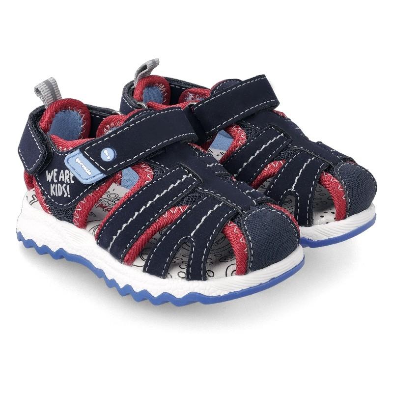 GARVALIN BOYS Water Sandals Navy 212785A