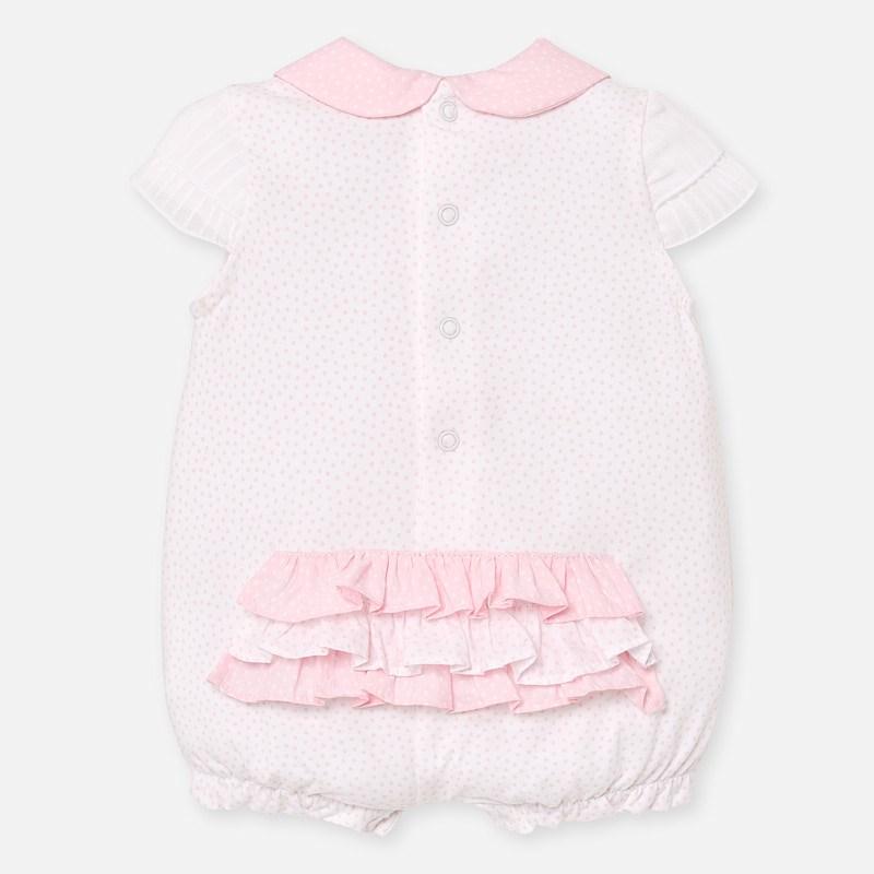 MAYORAL BABY Girl Bear Pink Romper 1753-26