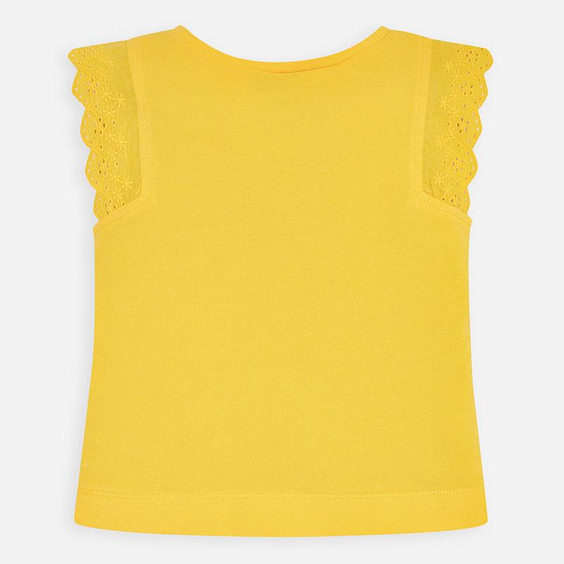 MAYORAL Girls Sleeveless t-shirt 'Enjoy' 3024-060