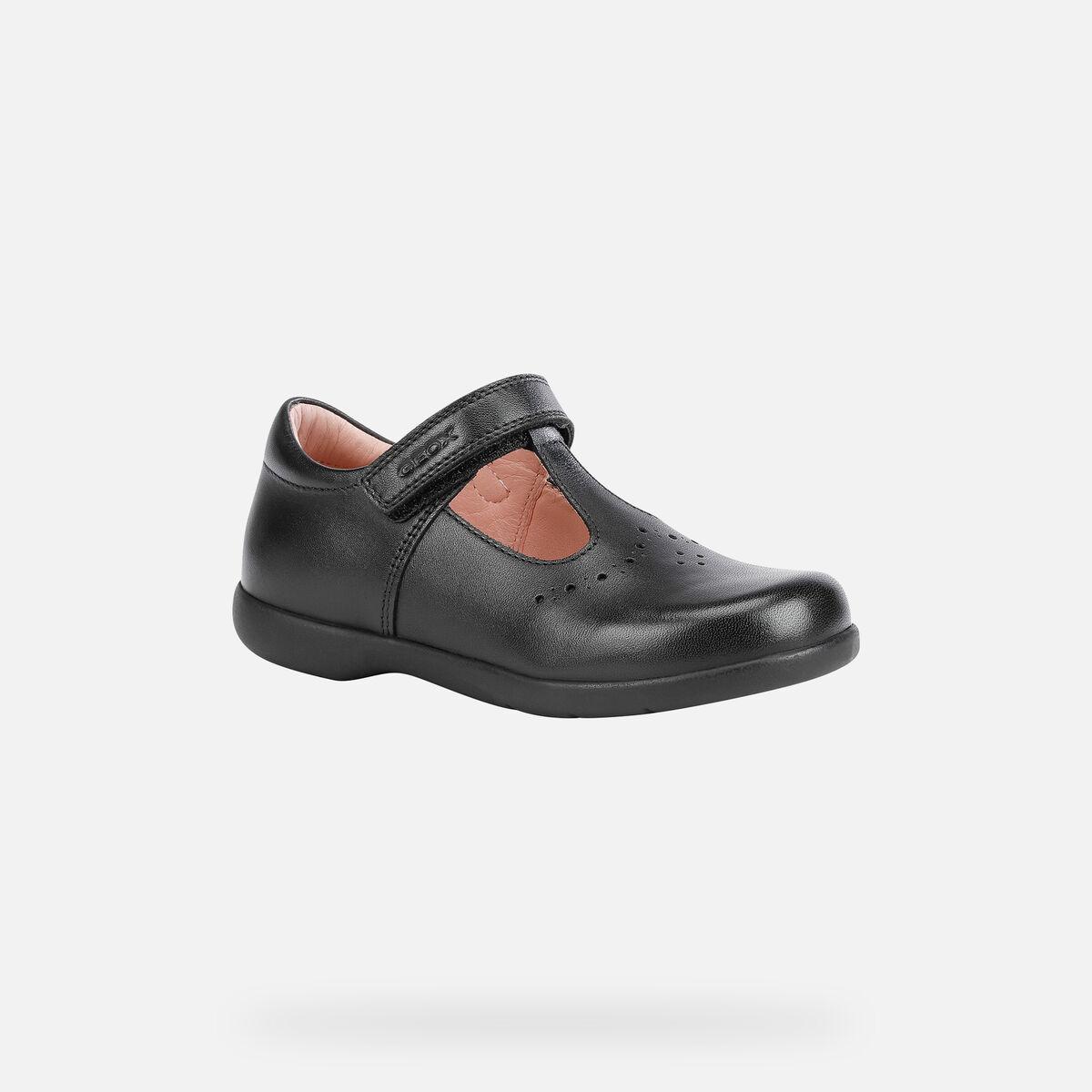School Shoes GEOX Mary Jane T-bar J Naimara G.A J16FHA