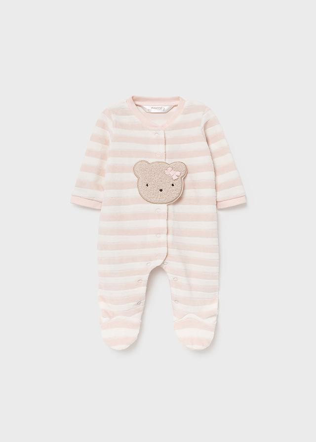MAYORAL BABY GIRL Bear Onesie 2668-89
