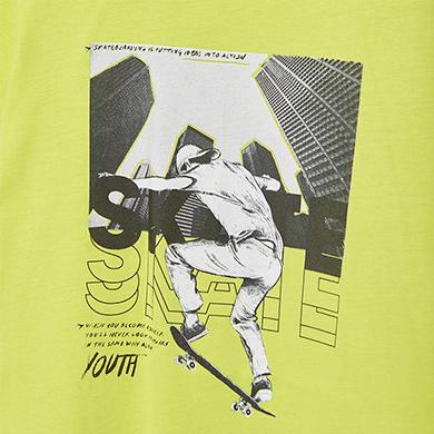 MAYORAL TEEN BOY Ecofriends Skater T-Shirt 6087-014