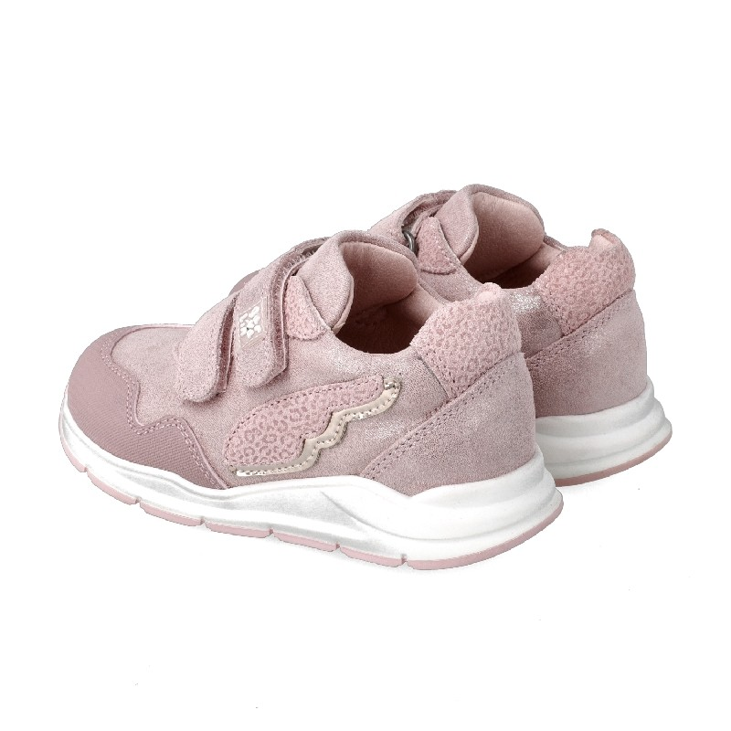 GARVALIN GIRLS  Pink Glittery Wing Trainers 201358-C