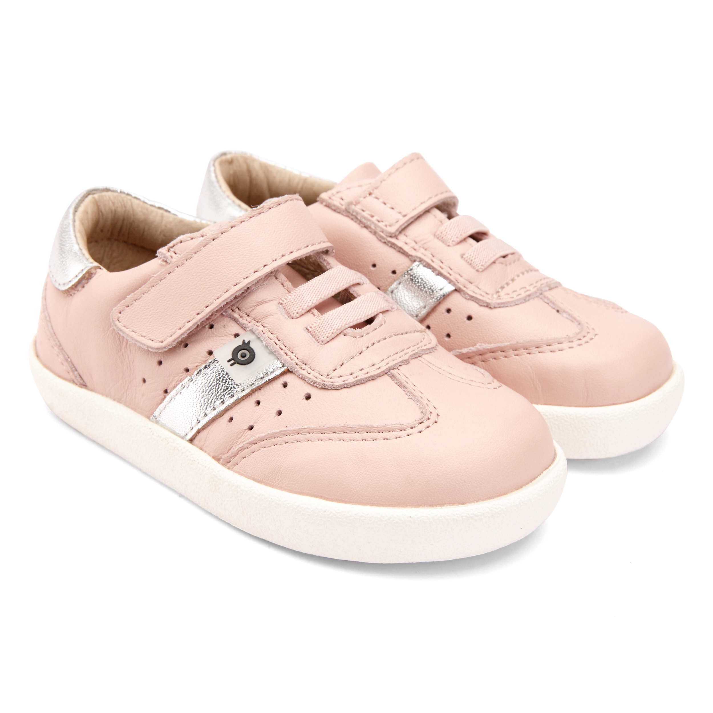 OLD SOLES Loadout Powder Pink and Silver Trainers 5065