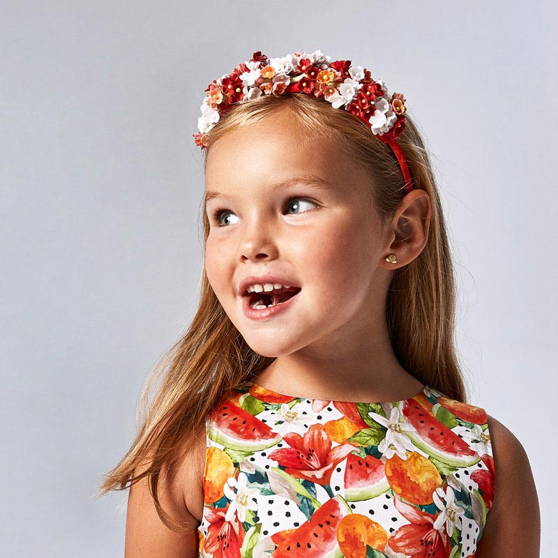 MAYORAL GIRLS Flower Hairband 10069-018
