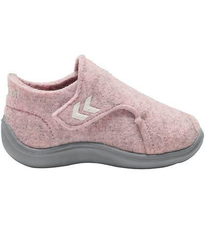 HUMMEL Girls Wool Slippers Rose 210381-3005