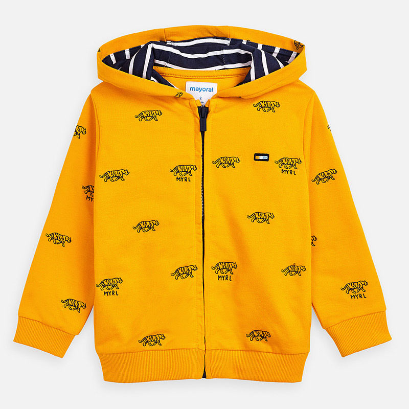 MAYORAL Boys Embroided hoodie 3446-010
