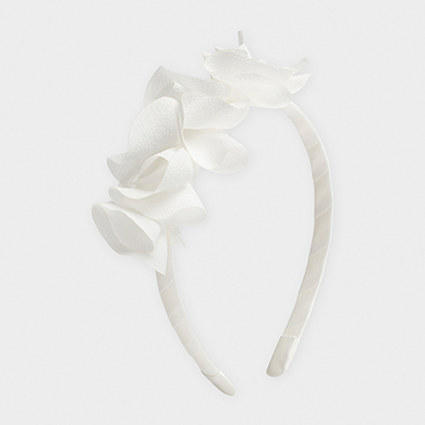 MAYORAL Girls Headband White 10850-018 NOW £4.95