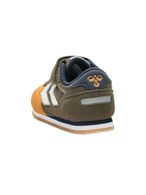 HUMMEL Boys Trainers Reflex Infant Olive/Camel 206809-8288