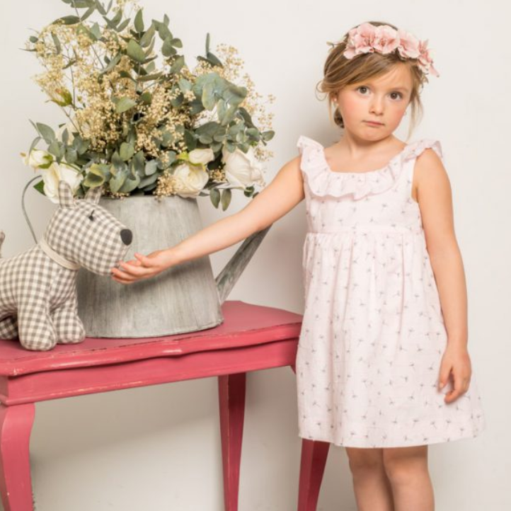 LAPEKI Girls Dandelion Dress