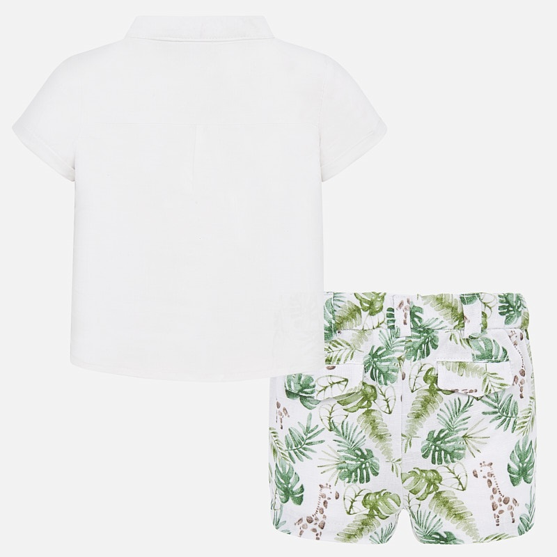 "MAYORAL BABY BOY Shirt ""Amazon"" 1267-023"