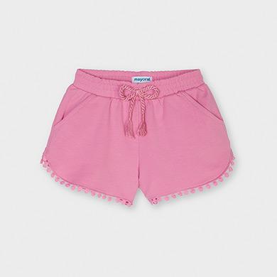 MAYORAL GIRLS Pink Jogger Shorts 607-033