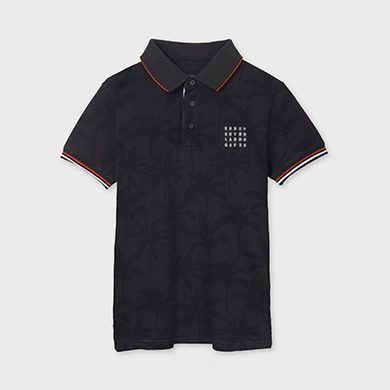 MAYORAL TEEN BOY Print Polo 6109-052