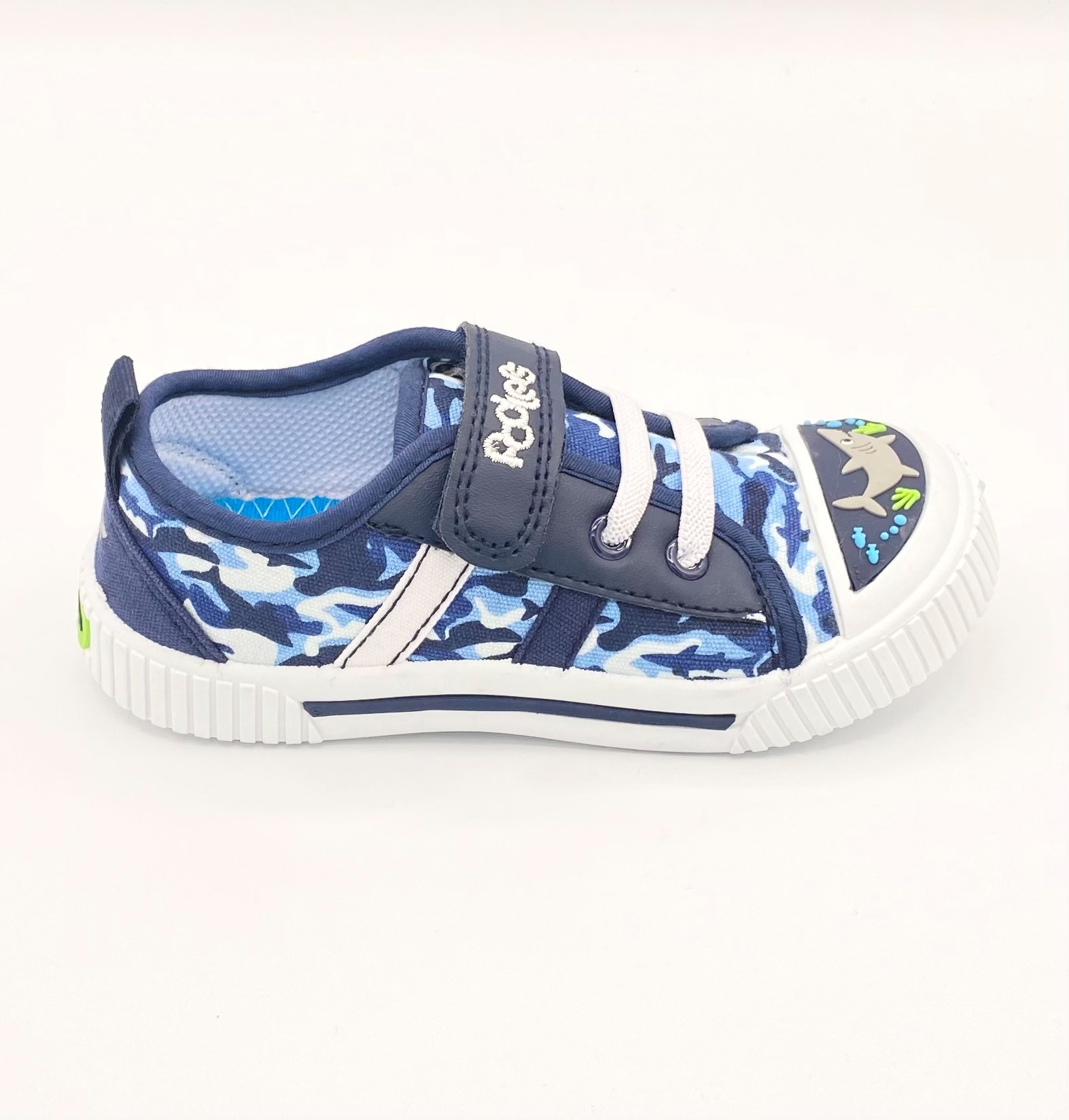 PODLERS BOYS 'Reez' Canvas Trainers