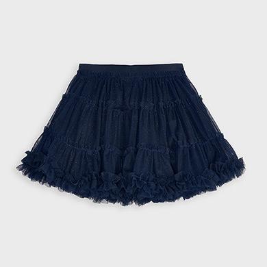 MAYORAL Girls Navy Skirt 4953-094