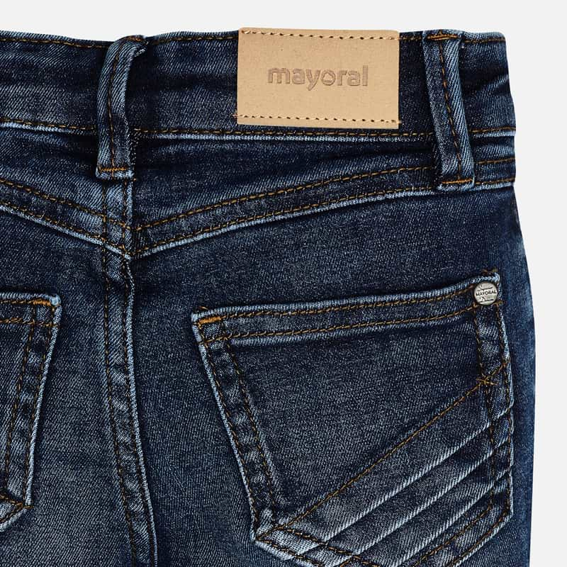 MAYORAL Girls Jeans Dark Blue 75-025 NOW £12