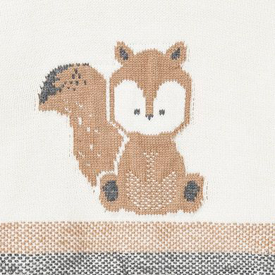 MAYORAL Baby Boy Squirrel Knitted Set Blue 2568-066