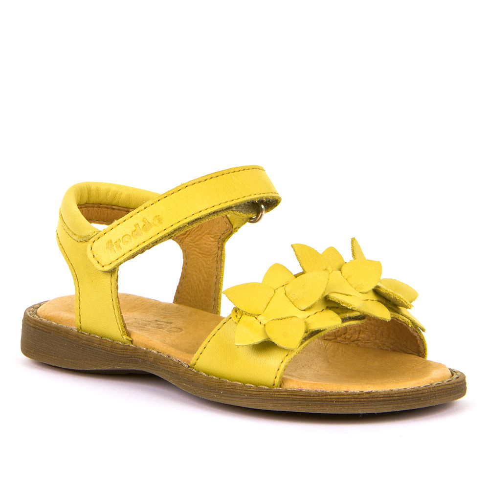 FRODDO Girls Sandals Yellow G3150181-5 NEW SEASON