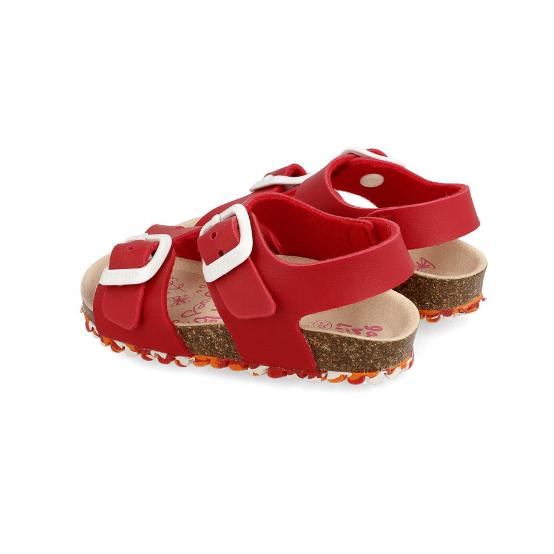 GARVALIN Red Sandal 202663-A