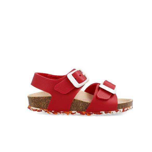 GARVALIN Boys/Girls Sandals Red 202663-A