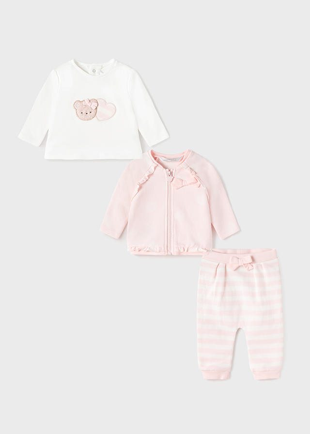 MAYORAL BABY GIRL Set 3 Piece Tracksuit 2672-089