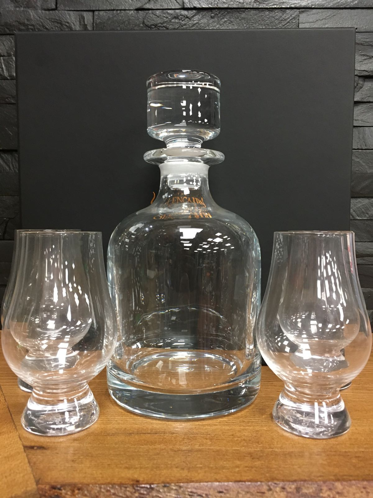 Iona Decanter and Four Glass Set