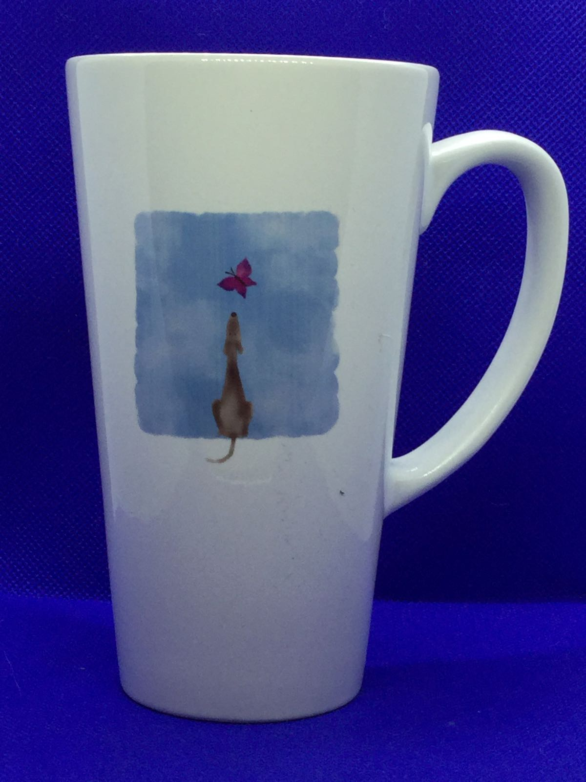 (A) Greyhound & Butterfly Mug
