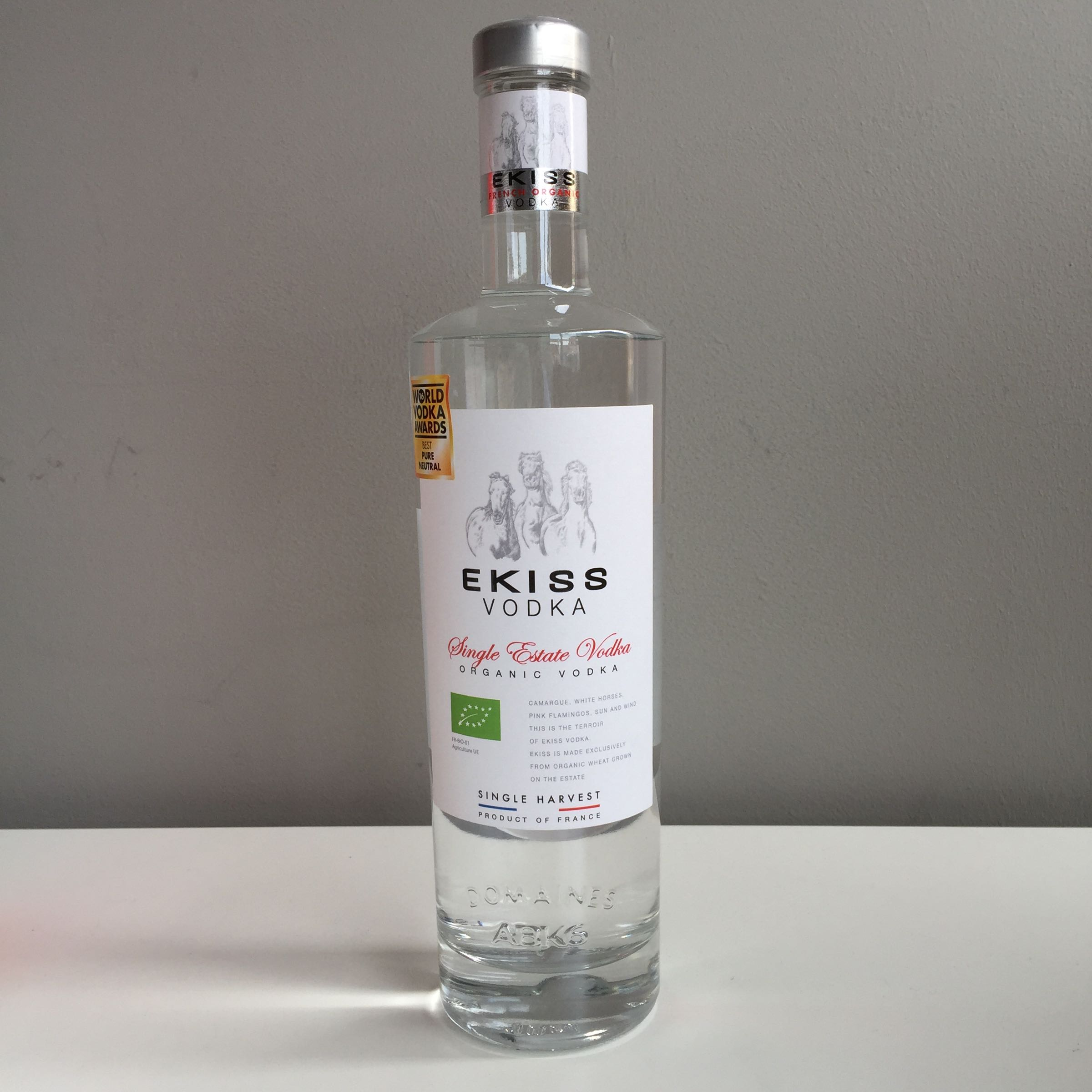 Ekiss 'Single Estate' Vodka 70cl 40% ABV