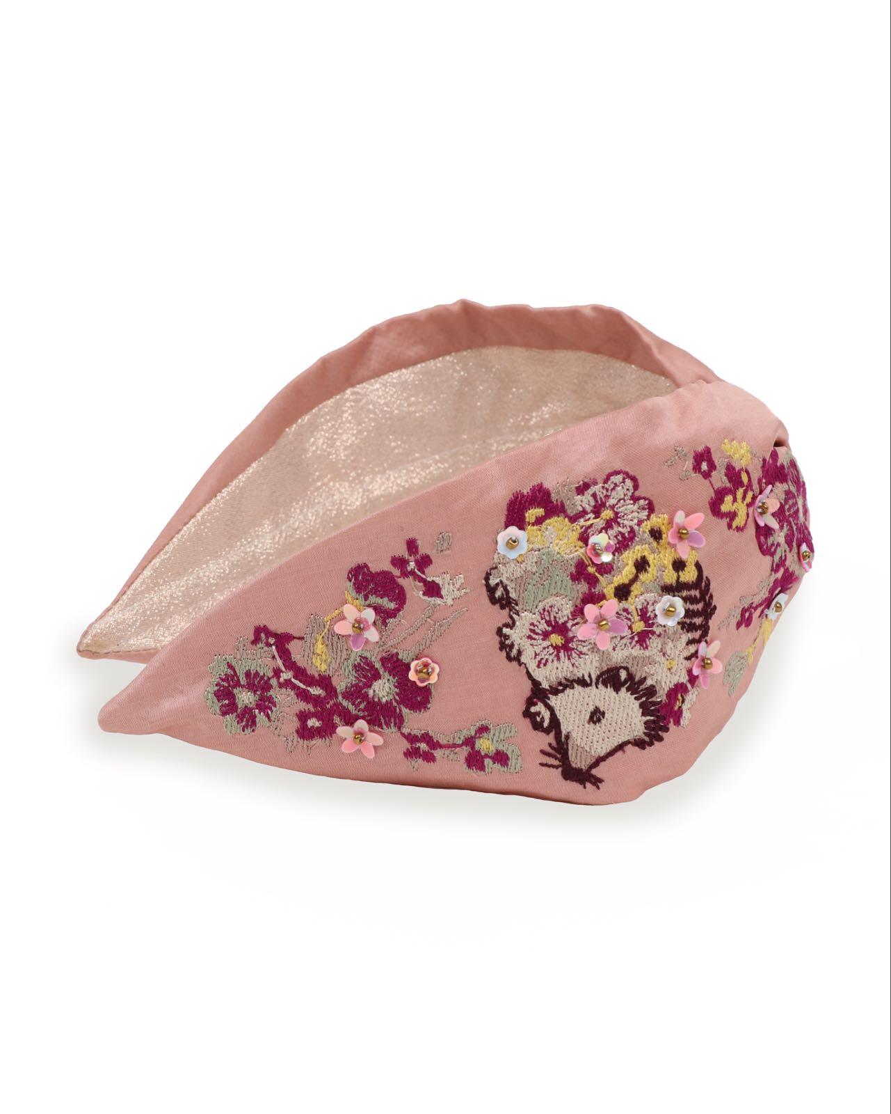 Powder Hedgehog headband