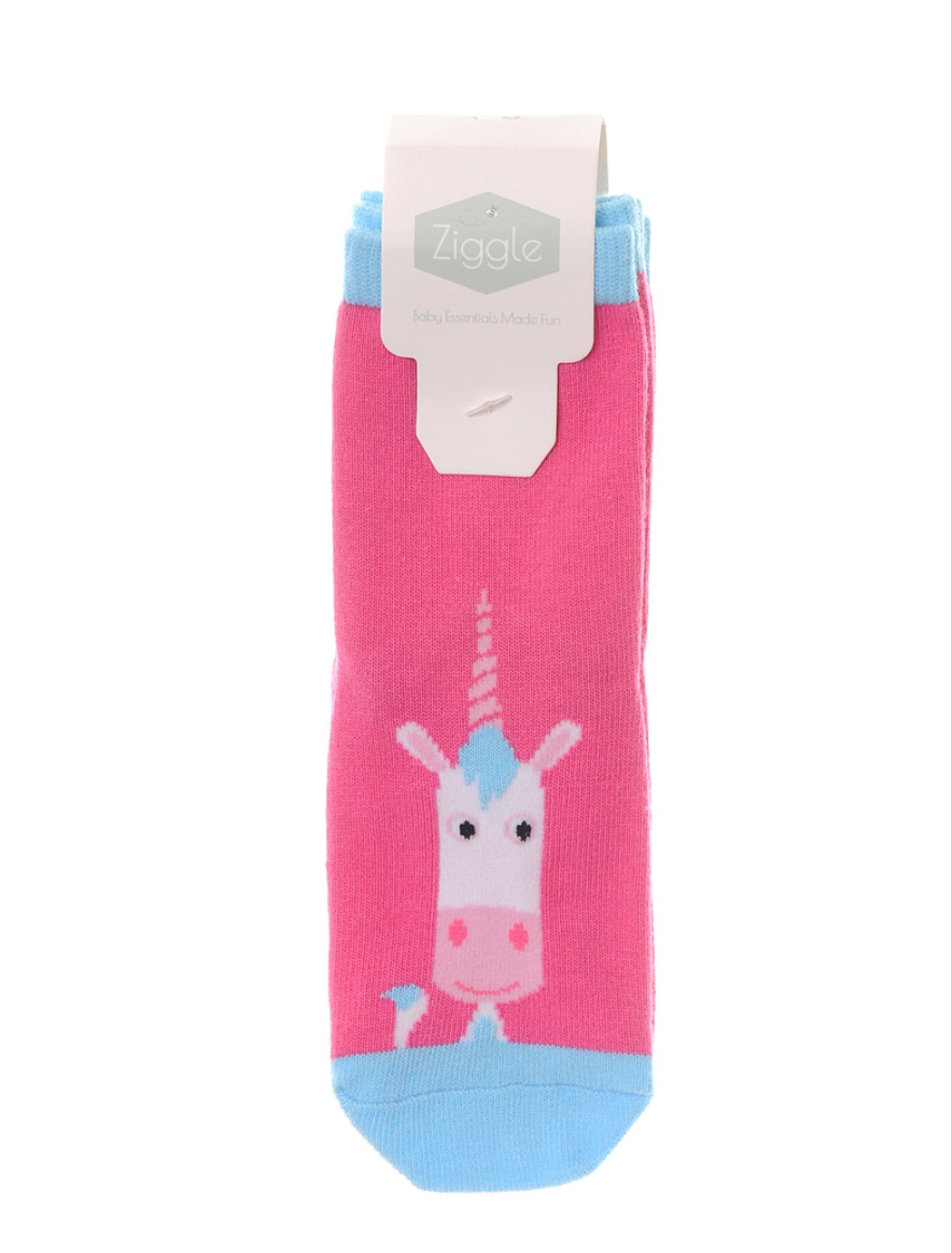 Ziggle Eunice Unicorn 2 pairs of Socks 18-24 months