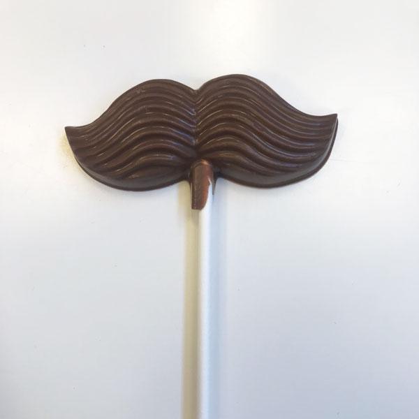 Mustaschklubba – Mörk choklad