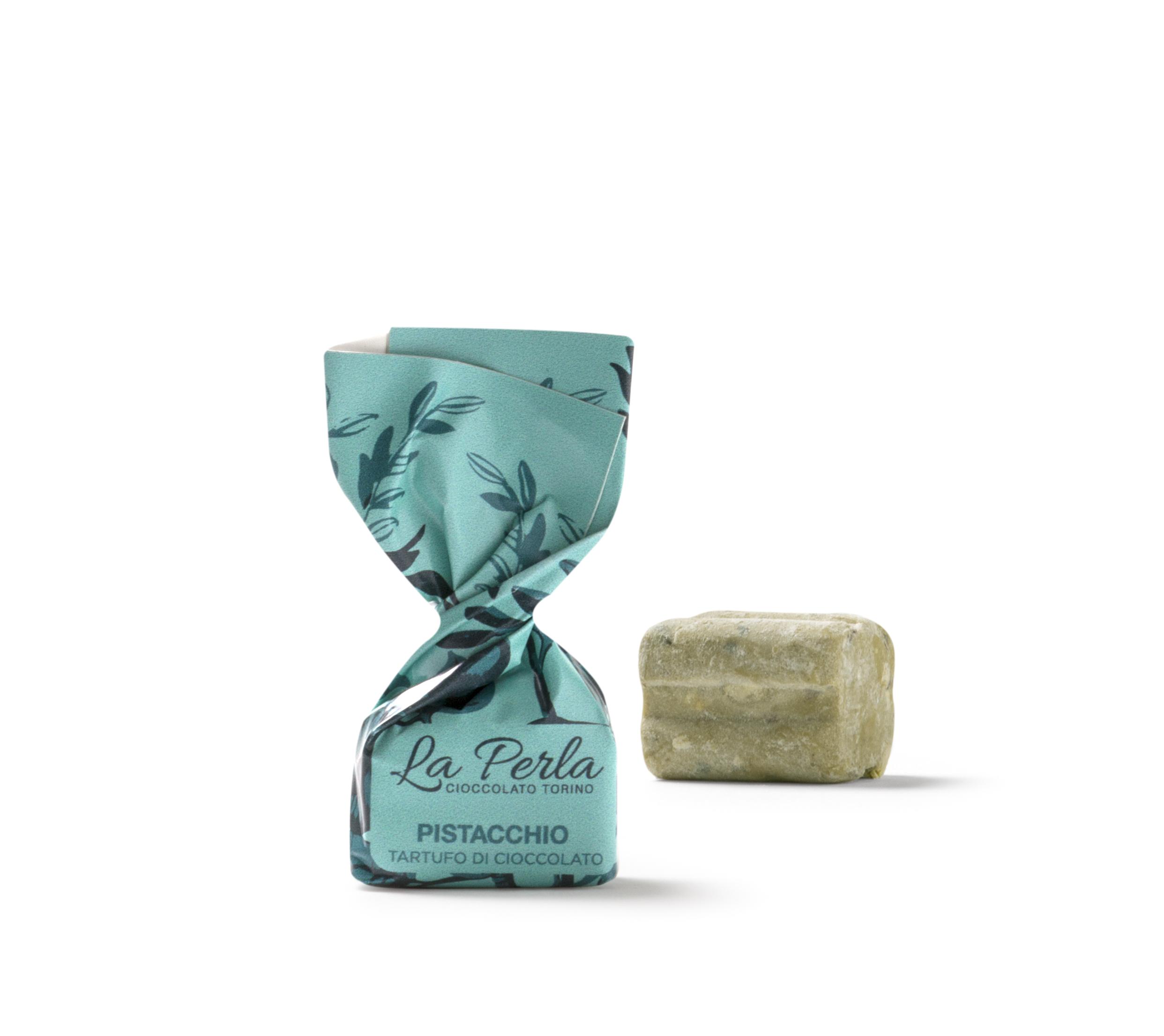 La Perla – Vit choklad & Pistagenötter
