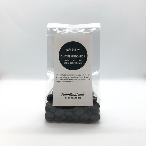 Chokladkaffebönor – Mörk choklad