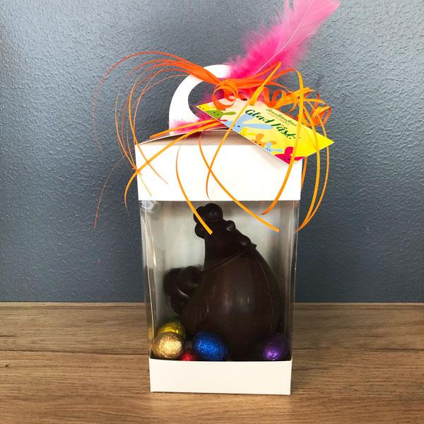 Chokladhöna i presentförpackning