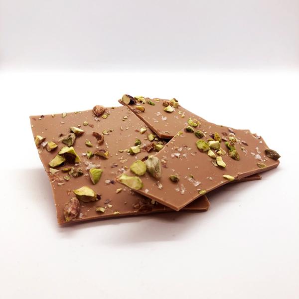 Bräck – Pistage & Mjölk/Vit choklad