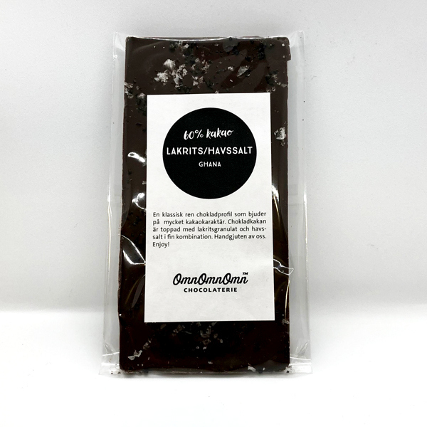 Lakrits & Havssalt 60% kakao
