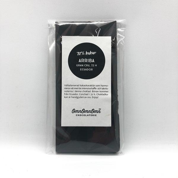 Arriba 72 % kakao, 72 h