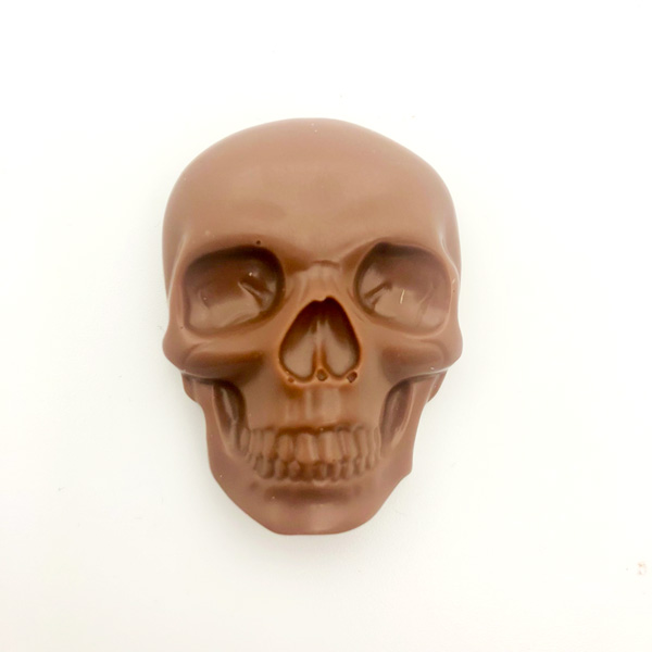 Halloween, Chokladskalle – Mjölkchoklad