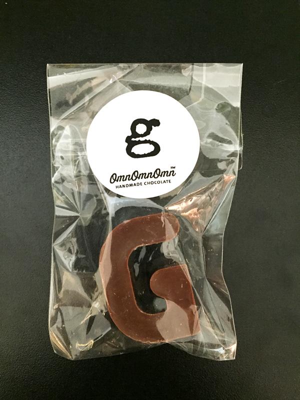 Chokladbokstäver – mörk choklad, VEGAN
