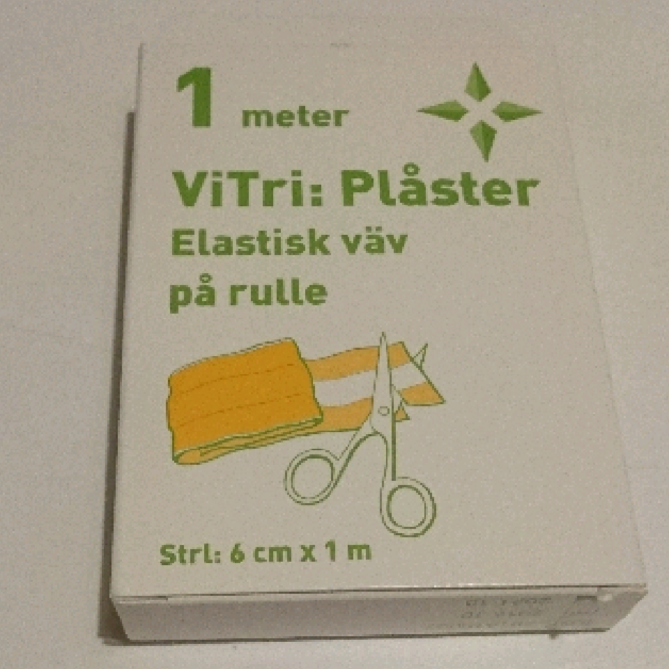 ViTri Plåster elastisk väv 6cmx1m 818301