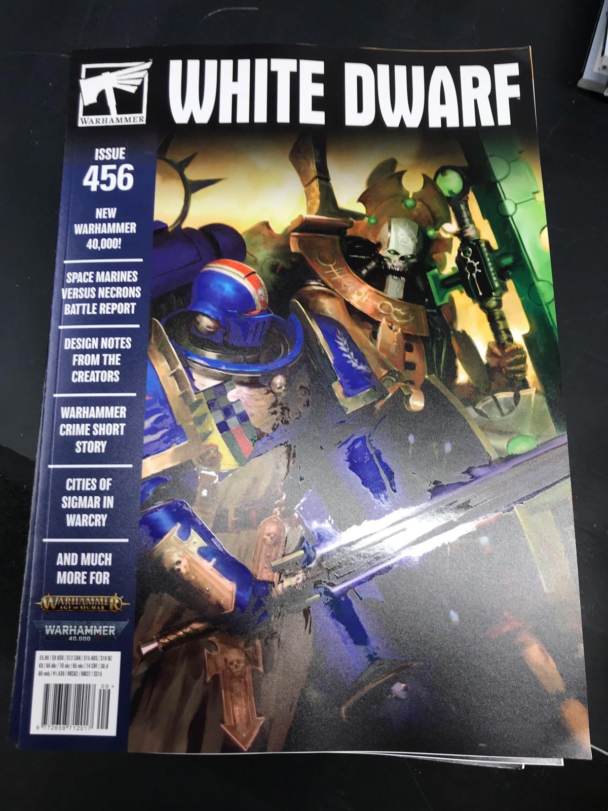 WHITE DWARF: ISSUE 456 (UDKOMMER 18-09-2020)